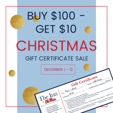 12 Days of Christmas Gift Certificate Sale